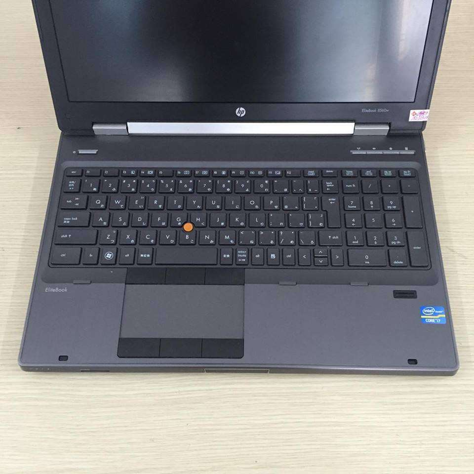 HP Elitebook 8560w (Core i7-2760M, RAM 8GB, HDD 320GB, VGA 2GB NVIDIA Quadro 1000M, 15.6 inch full HD)